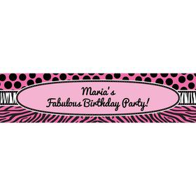 Oh So Fabulous Personalized Banner (Each)