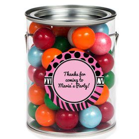 Oh So Fabulous Personalized Paint Can Favor Container (6 Pack)