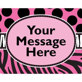 Oh So Fabulous Personalized Rectangular Stickers (Sheet of 15)
