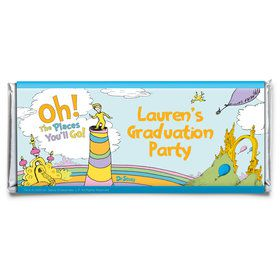 Oh The Places You'll Go Personalized Candy Bar Wrapper