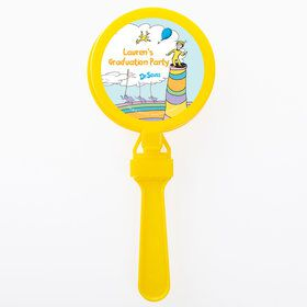Oh The Places You'll Go Personalized Clappers (Set of 12)