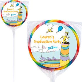 Oh The Places You'll Go Personalized Lollipops