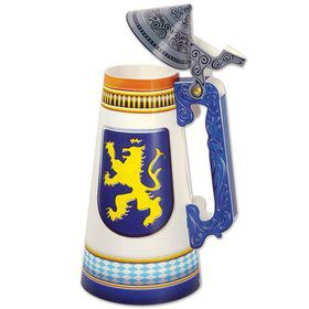 "Oktoberfest Beer Stein 11 3/4"" Centerpiece (Each)"