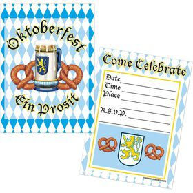 Oktoberfest Invitations (8 Pack)