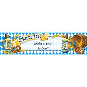 Oktoberfest Personalized Banner (Each)