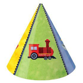 On The Go Party Hats, Child Size (8 Pack)