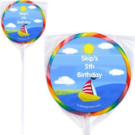 On the Go Personalized Lollipops (12 Count)