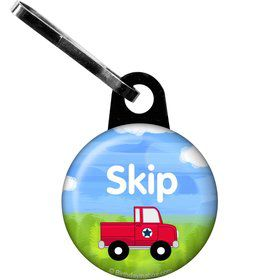 On the Go Personalized Zipper Pull (Each)