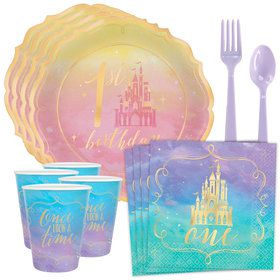 Once Upon a Time 1st Birthday Tableware Kit (Serves 8)