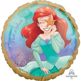 "Once Upon a Time Ariel 17"" Foil Balloon"