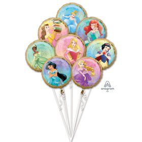 Once Upon a Time Princesses Foil Balloon Bouquet
