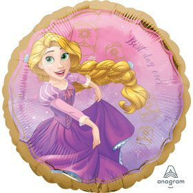 """Once Upon a Time Rapunzel 17"""" Foil Balloon"""