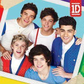 One Direction Beverage Napkins (16 Pack)