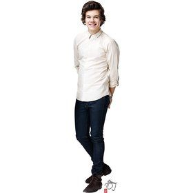 One Direction Harry Cardboard Standup Decoration (Each)