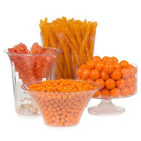 Orange Candy Buffet Decorating Kit (Each)