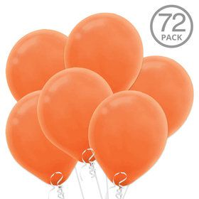 Orange Latex Balloons (72 Count)