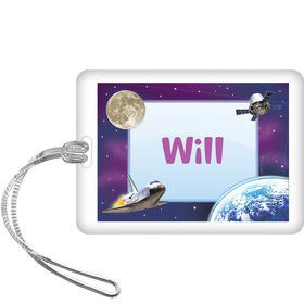 Outer Space Personalized Bag Tag (each)