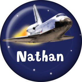 Outer Space Personalized Mini Button (Each)