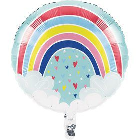 "Over the Rainbow 18"" Foil Balloon (1)"