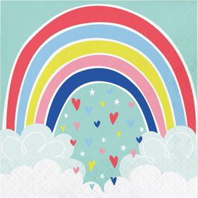 Over the Rainbow Lunch Napkin (16)