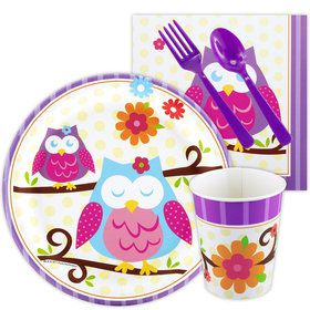 Owl Blossom Snack Party Pack