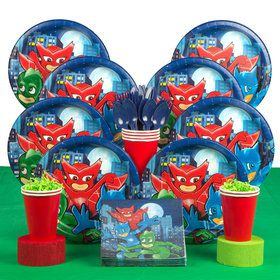 Pajama Heroes Deluxe Tableware Kit (Serves 8)