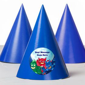 Pajama Heroes Personalized Party Hats (8 Count)