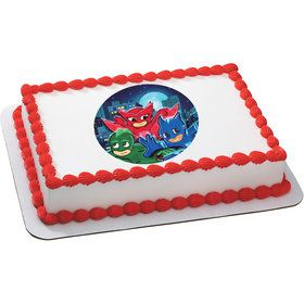 Pajama Heroes Quarter Sheet Edible Cake Topper (Each)