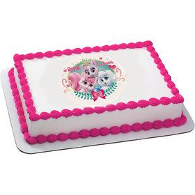Palace Pets Royal Cuteness Quarter Sheet Edible Cake Topper (Each)