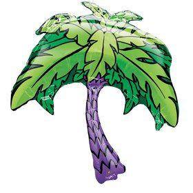 "Palm Tree 33"" Foil Balloon (Each)"