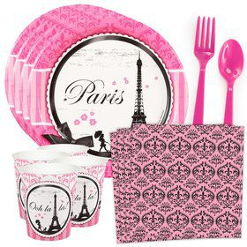 Paris Damask Standard Tableware Kit (Serves 8)