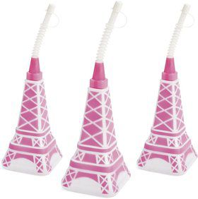 "Paris Eiffel Tower 8"" Sipper Cup (Each)"
