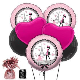 Paris Party Balloon Kit (Each)