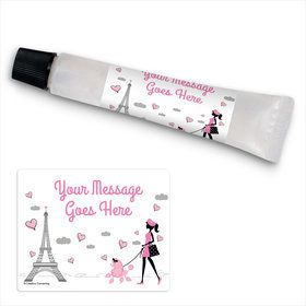 Paris Party Personalized Hand Sanitizer Kit (24 Pack)