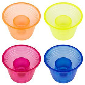 Party Bombers Assorted Party Cups (25 Pack)