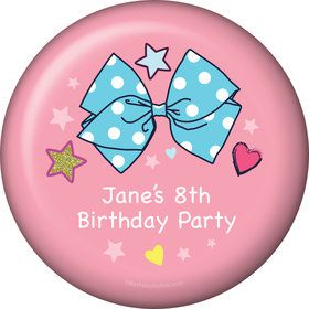 Party Bows Personalized Magnet (Each)