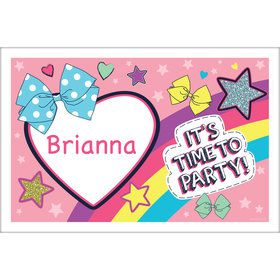 Party Bows Personalized Placemat (Each)