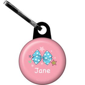 Party Bows Personalized Zipper Pull (Each)