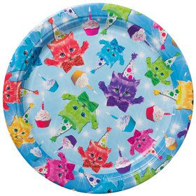 "Party Cats 9"" Luncheon Plates (8 Count)"