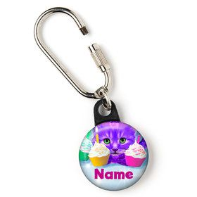 "Party Cats Personalized 1"" Carabiner (Each)"