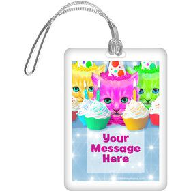 Party Cats Personalized Bag Tag (Each)