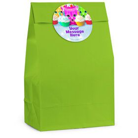 Party Cats Personalized Favor Bag (12 Pack)