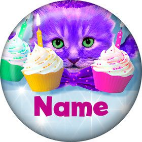 Party Cats Personalized Mini Magnet (Each)