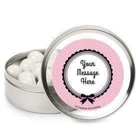 Party in Paris Personalized Mint Tins (12 Pack)