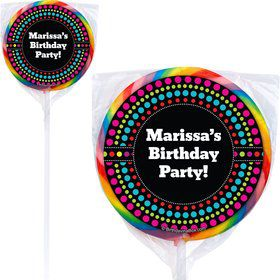 Party On Lollipops (Pack Of 12)