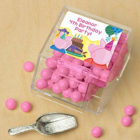 Party Pig Personalized Candy Bin with Candy Scoop (10 Count)