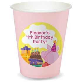 Party Pig Personalized Cups (8)