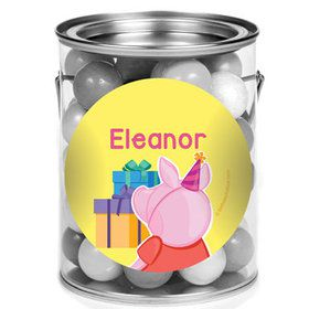 Party Pig Personalized Mini Paint Cans (12 Count)