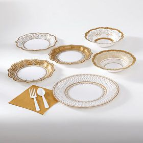 Party Porcelain 8 Guest Party Pack