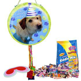 Party Pup Pull String Economy Pinata Kit